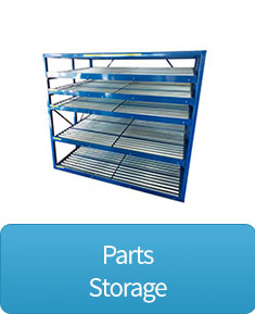 Parts storage shelving