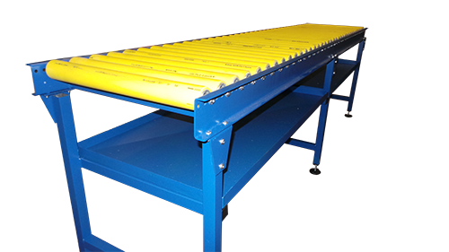 Bespoke gravity roller conveyor