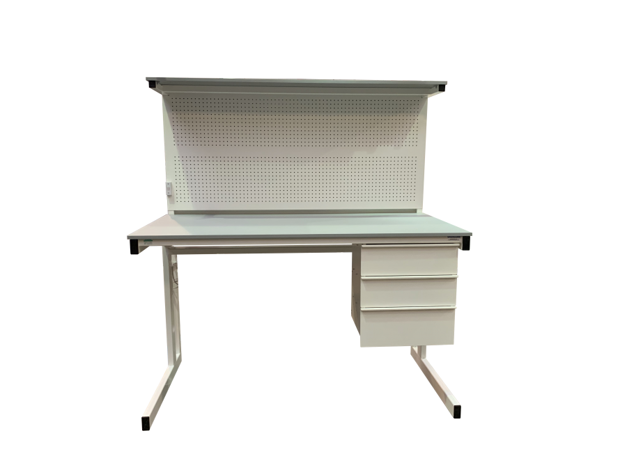 Electrical workbench with drawers