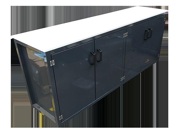 Workshop work bench - cupboard unit