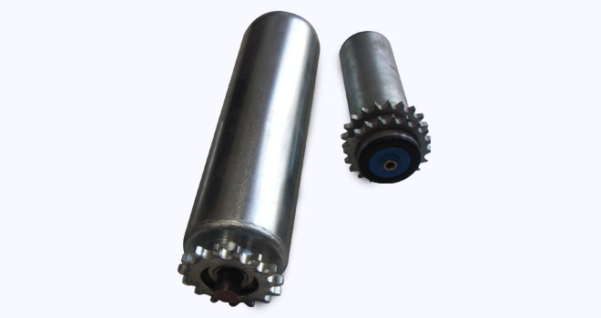 sprocket driven rollers