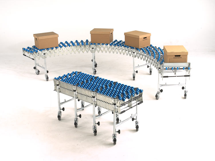 Flexible Skate Wheel Conveyor