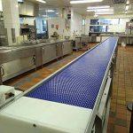 dishwashing conveyor belt for hospital