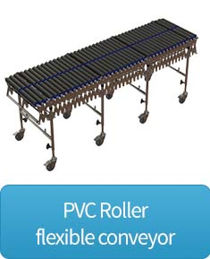 flexible PVC Roller conveyor button
