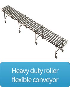 Heavy duty flexible conveyor