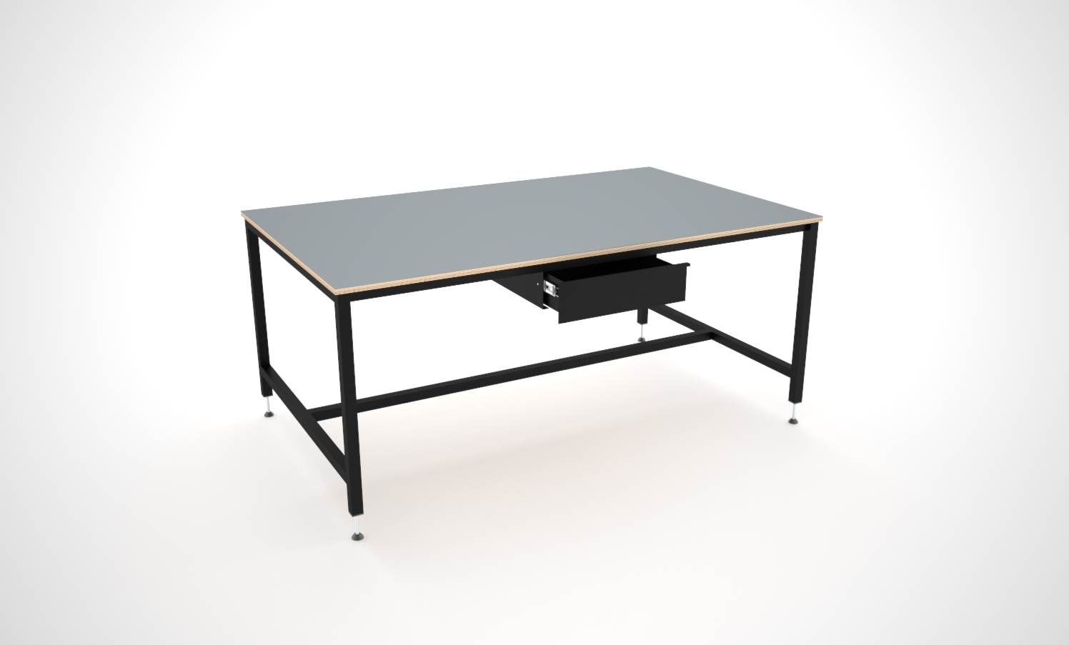 Basic layout table with drawer