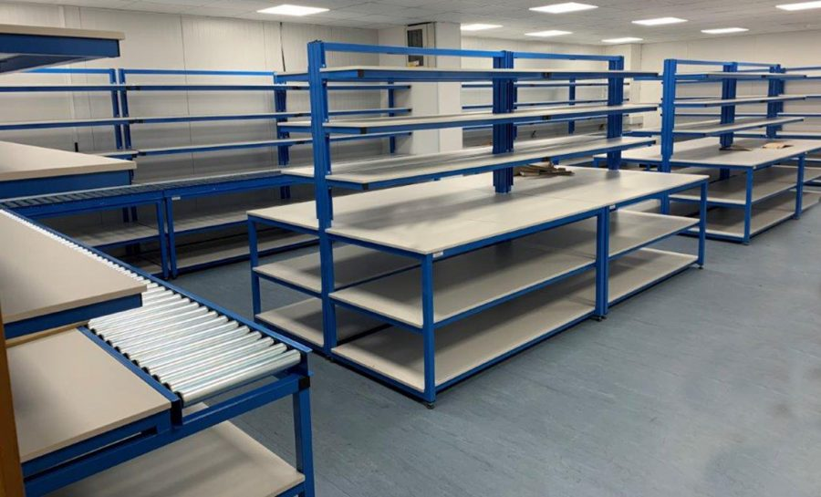 Industrial workshop flowline uk workbench
