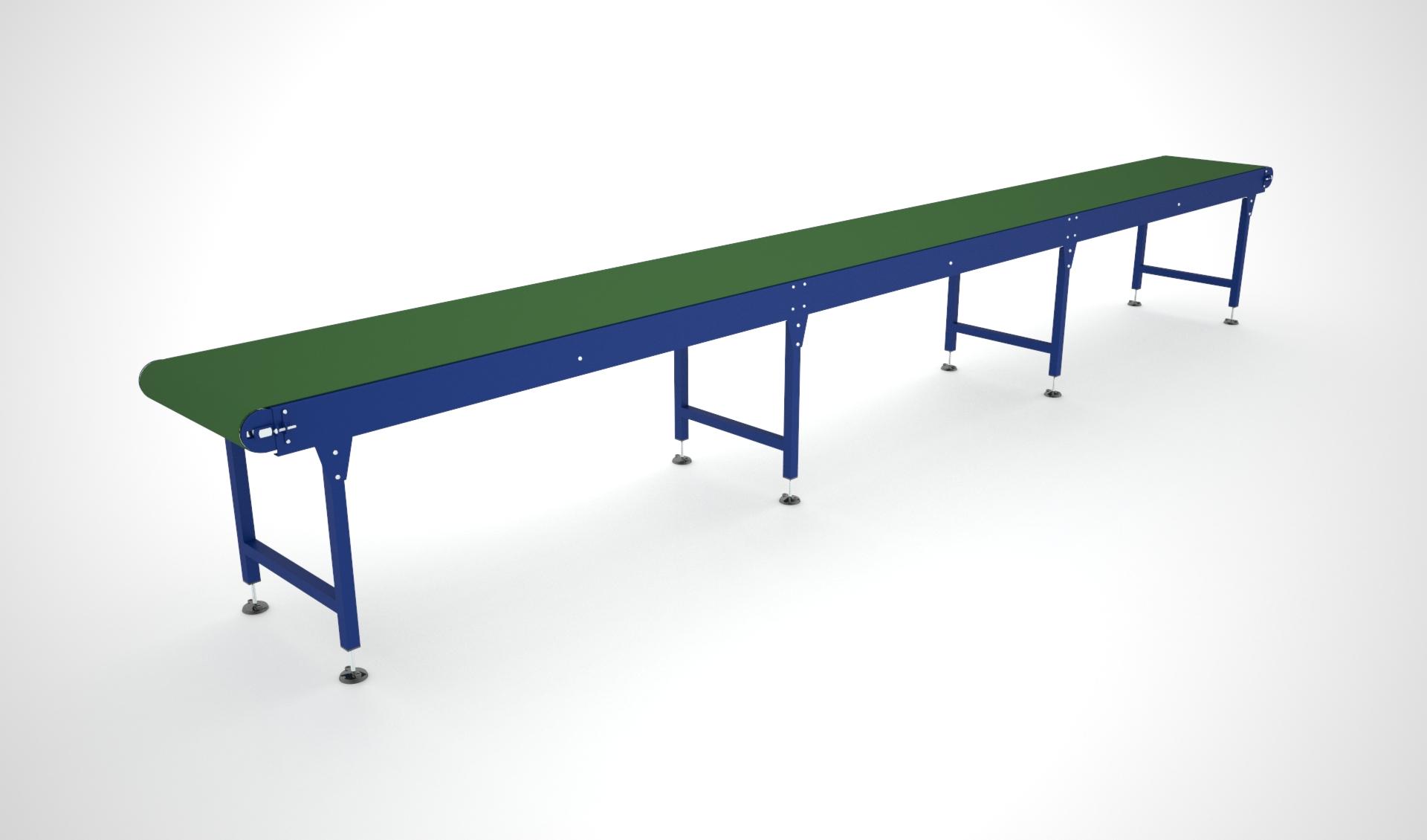 Belt conveyor end drive