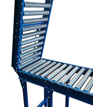 lift up gravity conveyor gate