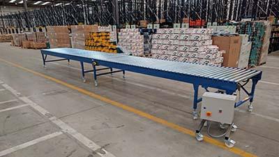 Driven roller conveyor system