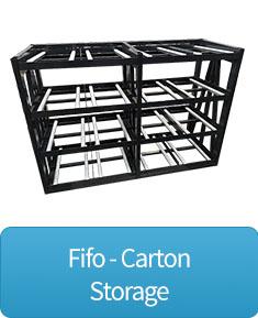 FIFO Carton storage