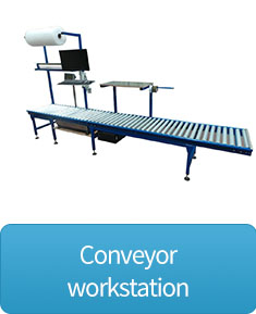 conveyor workstation button