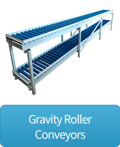 gravity roller conveyors button