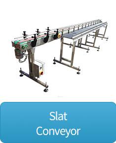 slat conveyor button