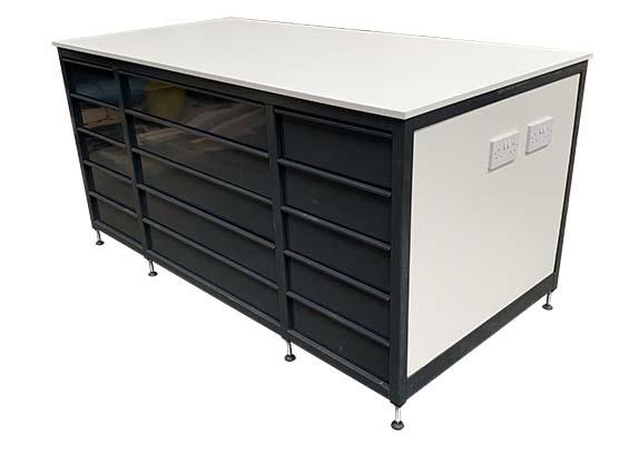 Industrial workshop drawer unit