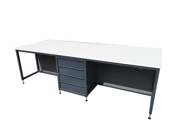 Industrial workshop desk unit