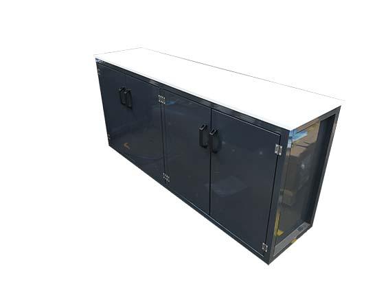 Workshop cupboard unit