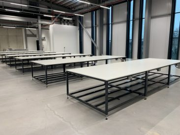 large workbenches