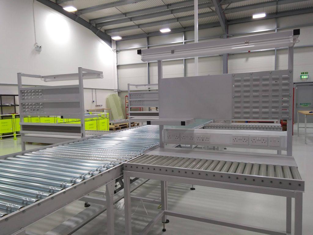 Roller Conveyor Workstation