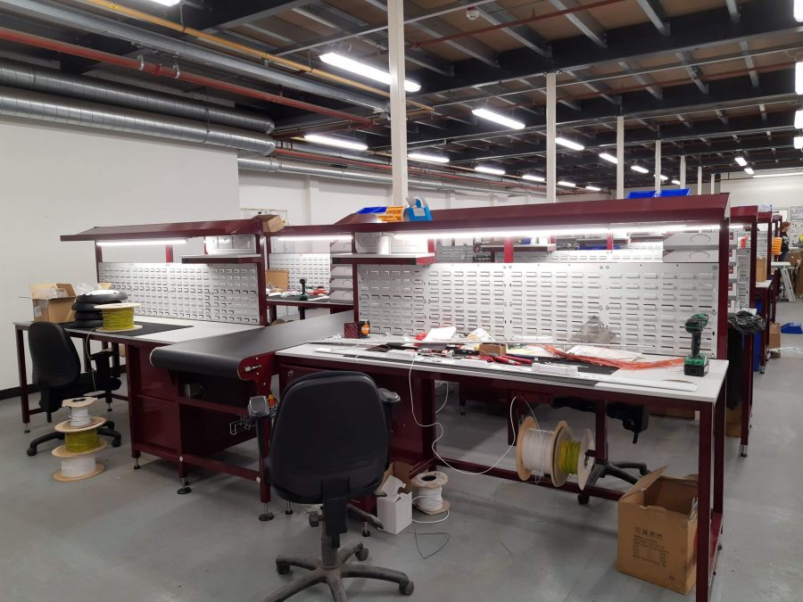 Workbenches for repair line