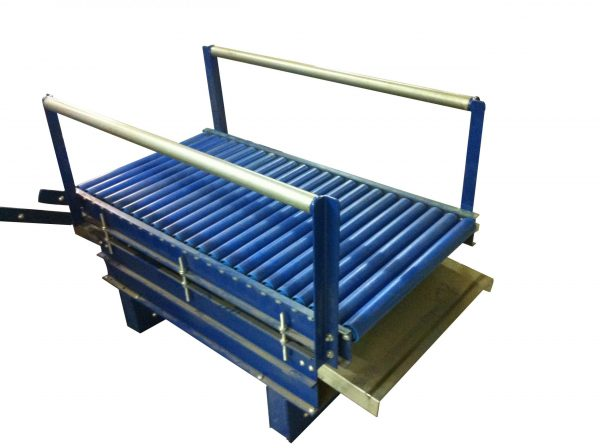 roller conveyor transfer car