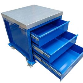 steel top heavy duty drawers