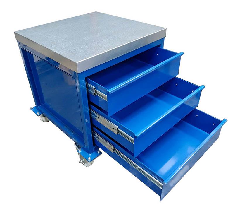 steel top heavy duty drawers