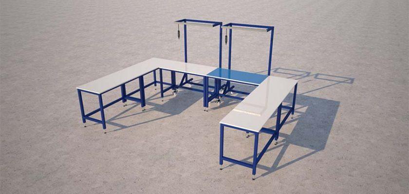 bench render