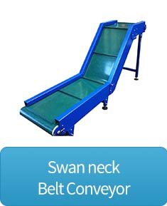 swan neck belt conveyor button