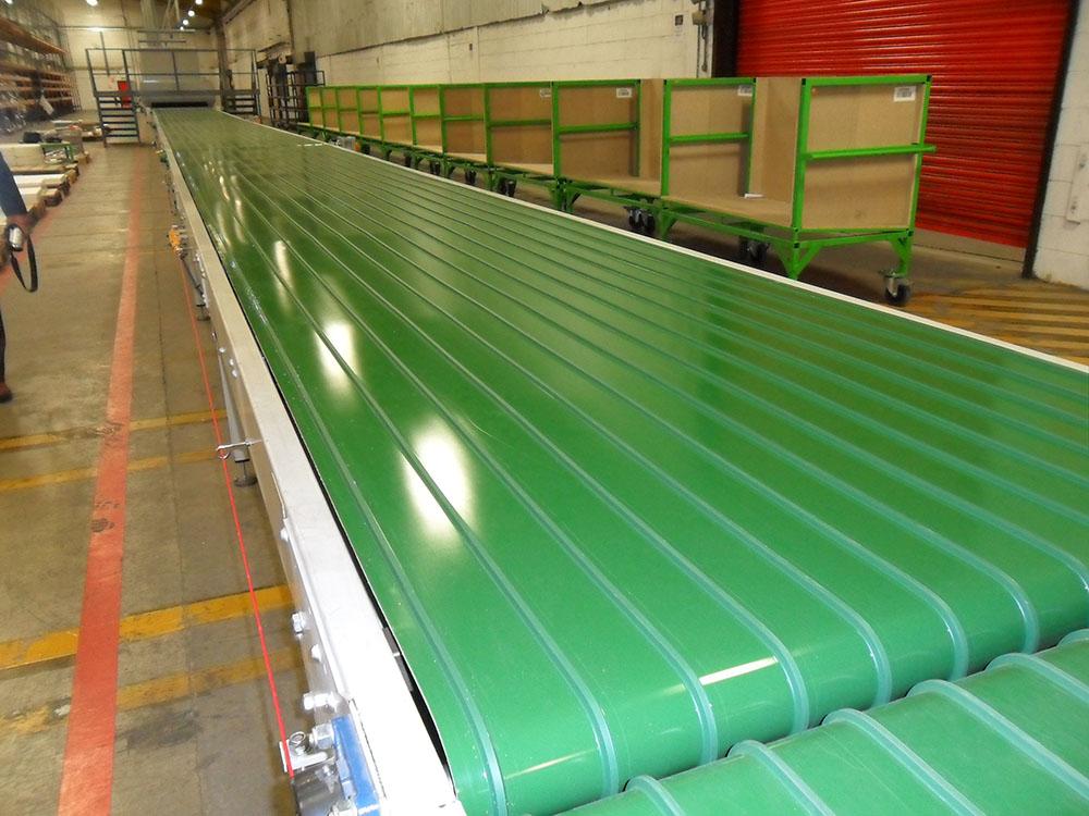 extra wide conveyor