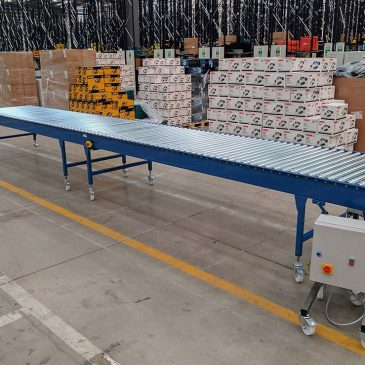 mobile driven roller conveyor