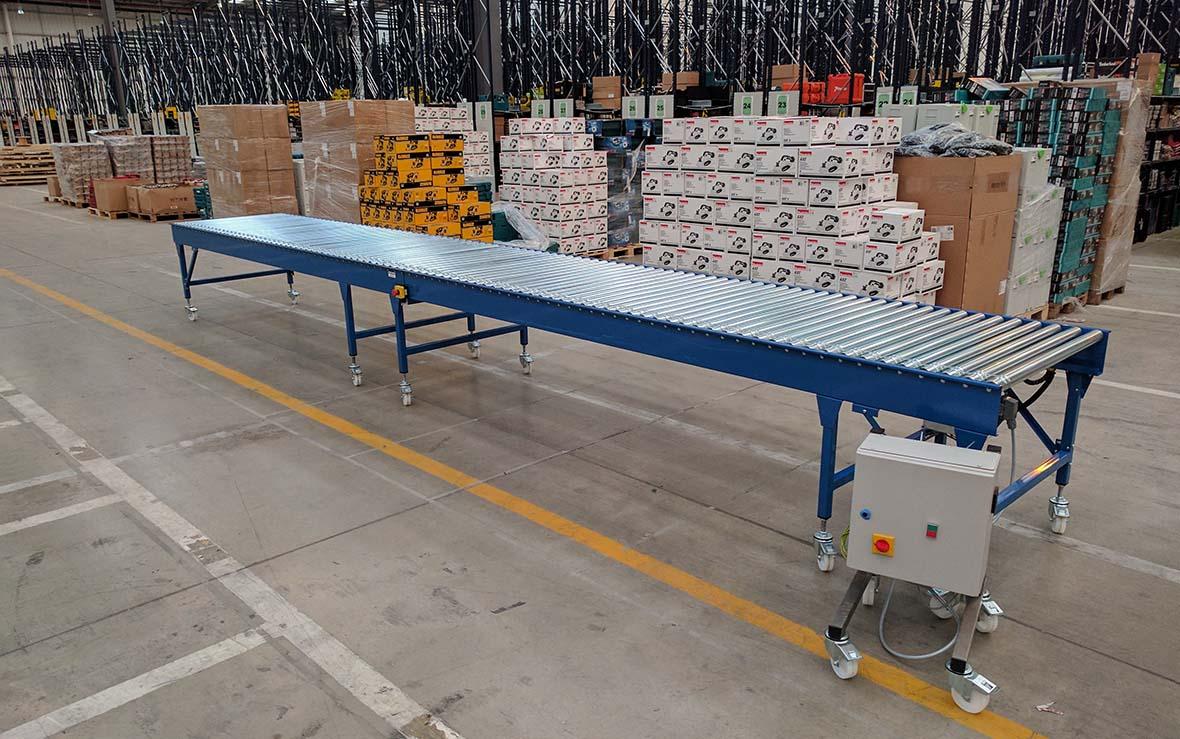 Mobile Driven Roller Conveyor