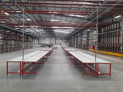 warehouse benches