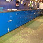 steel workbenches