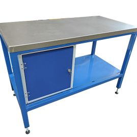 steel topped workbench