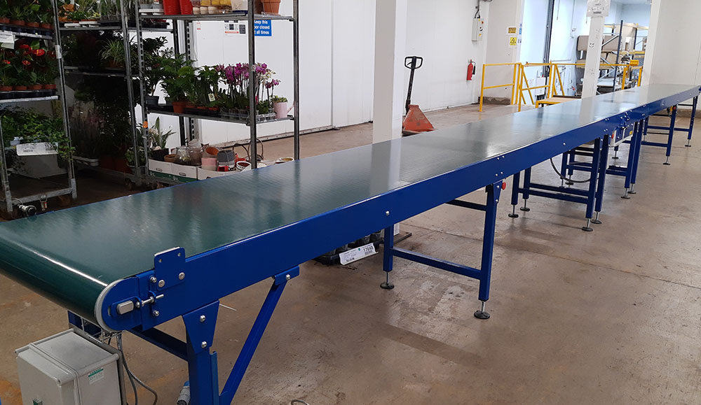 belt conveyors for e-commerce