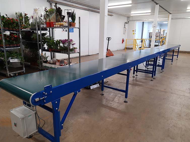 medium duty belt conveyor