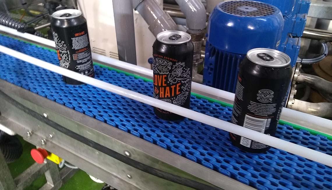 beer can conveyor