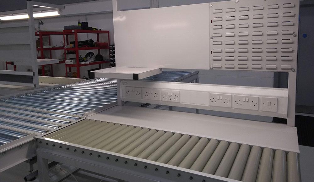 conveyor workstation