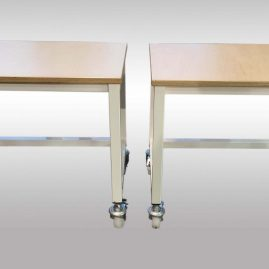workbenches on castors
