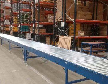 24v powered roller conveyor