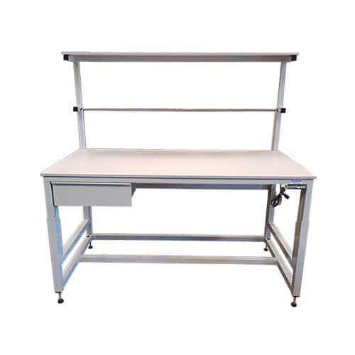 Height adjustable workbench
