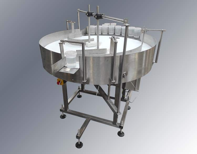 rotary packing table