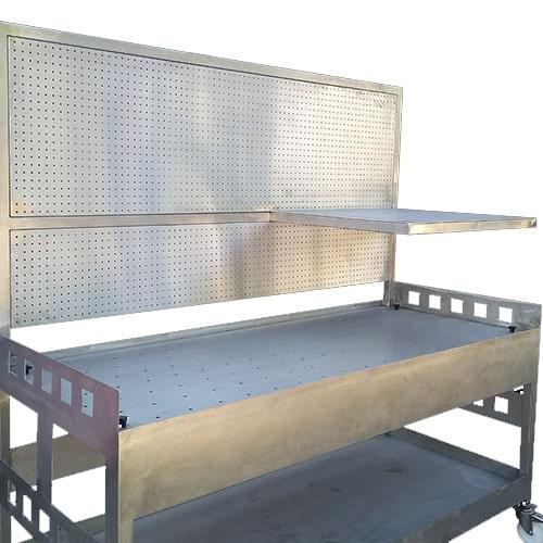 steel top