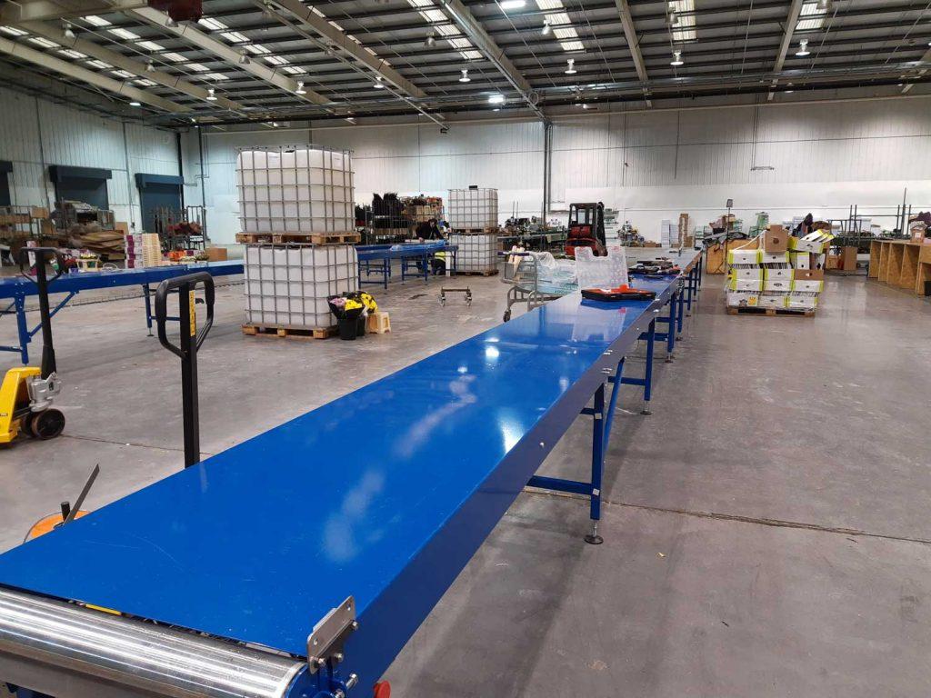 packing conveyor belt