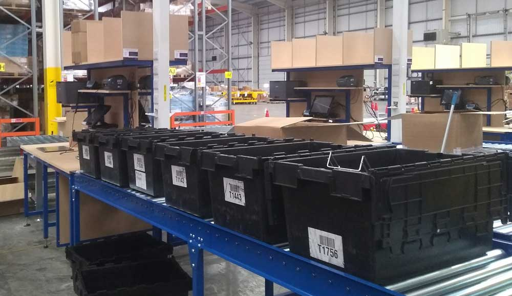 warehouse totes