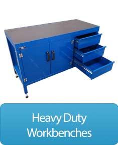 Heavy duty workbenches