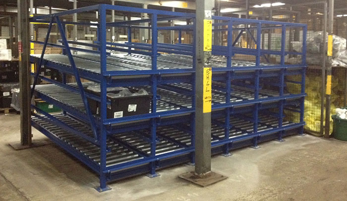 pallet storage roller racking