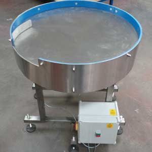 Stainless steel top rotary table