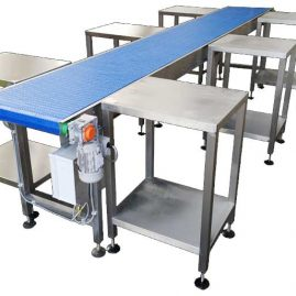 stainless food conveyor